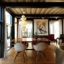 谷口智子の住宅事例「『I・M邸』光を共有する二世帯住宅」