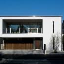 竹石明弘の住宅事例「『公園を臨む家』公園を借景とする明るい住まい」