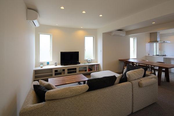 『M邸』4LDKから2世帯住宅へリノベーションの部屋 子世帯-明るいLDK