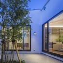 細川範規の住宅事例「『高松の家』中庭を囲む平屋住宅」