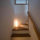 シンプルな階段室