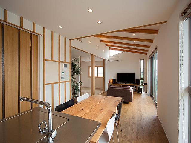 建築家:谷脇壱字「『higashitakamatsu』木の温もり感じるモダンな住まい」