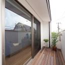 谷脇壱字の住宅事例「『higashitakamatsu』木の温もり感じるモダンな住まい」
