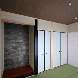 和室の寝室