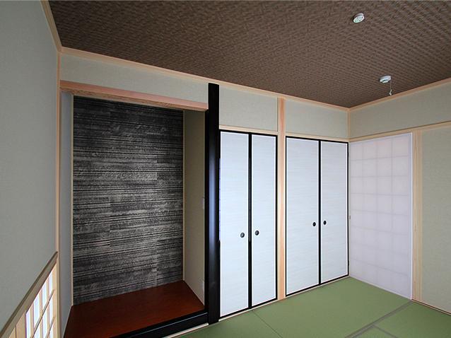 『souya』落ち着きのある和モダンな住まいの部屋 和室の寝室