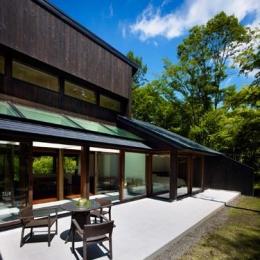 『軽井沢の別荘 K邸』憩いのセカンドハウス