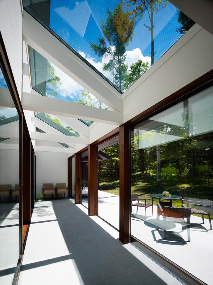 建築家:安井秀夫「『軽井沢の別荘 K邸』憩いのセカンドハウス」