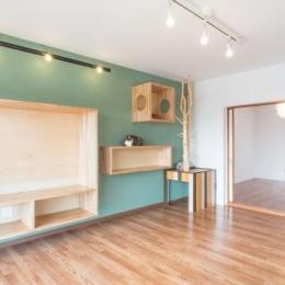 『埼玉県羽生市K邸』猫のための楽園♪賃貸リノベーション (リビングに連続する洋室)