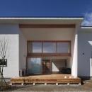 前島周子の住宅事例「『5つのテラスの家』光と風を楽しむ住まい」