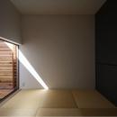 坪庭テラス付き畳室