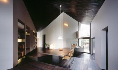リビング・ダイニング・キッチン|成瀬の家