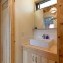 廊下の洗面スペース