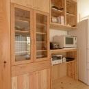 福田義房の住宅事例「『B/storage』本がたくさんあるシンプルな木の家」