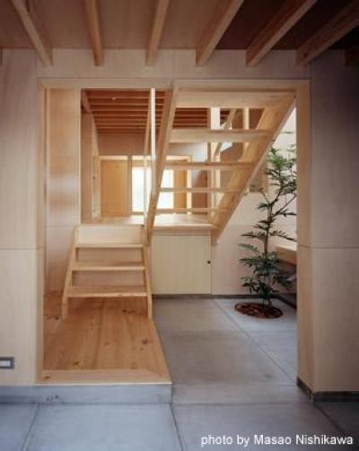 玄関・土間 (カテナハウス)