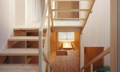 階段|カテナハウス