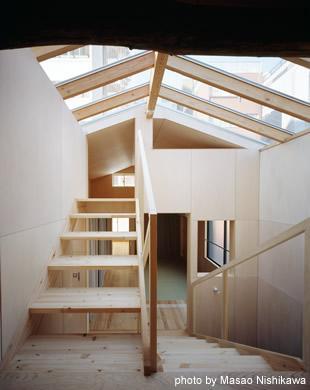カテナハウスの部屋 階段