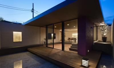 テラス|赤塚の家