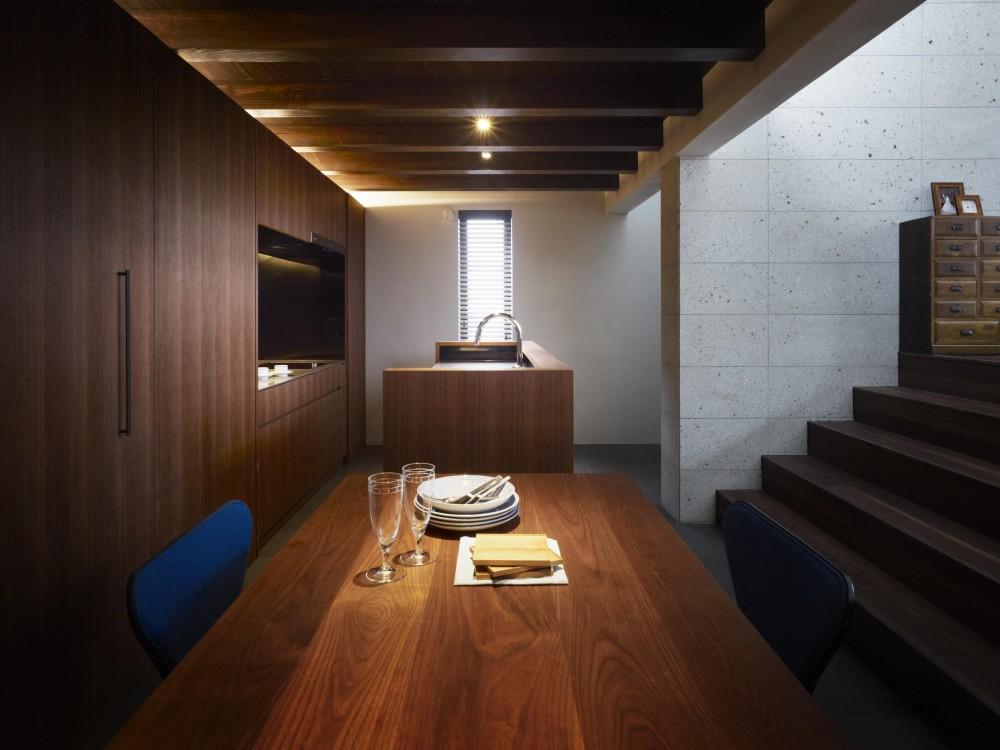 東山の家 (ダイニング・キッチン)