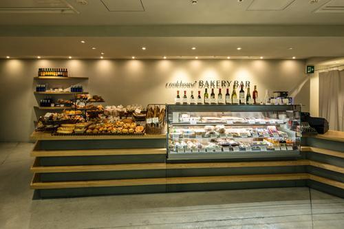 『cookhouse BAKERY BAR』カウンターのデザインの部屋 ショーケース・カウンター
