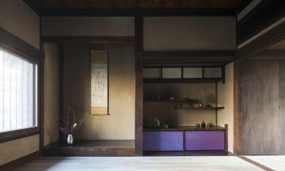 古民家の家/Traditional Japanese House with Modern Interior (和を想わせる空間)