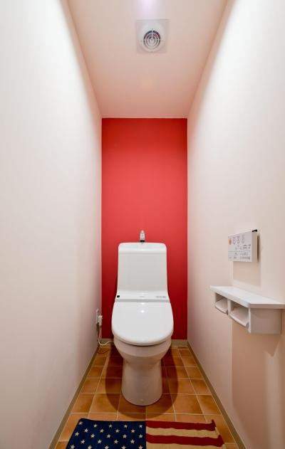 お部屋の魅力を存分に引き出す_中古マンションペイントリノベーション (お手洗い)