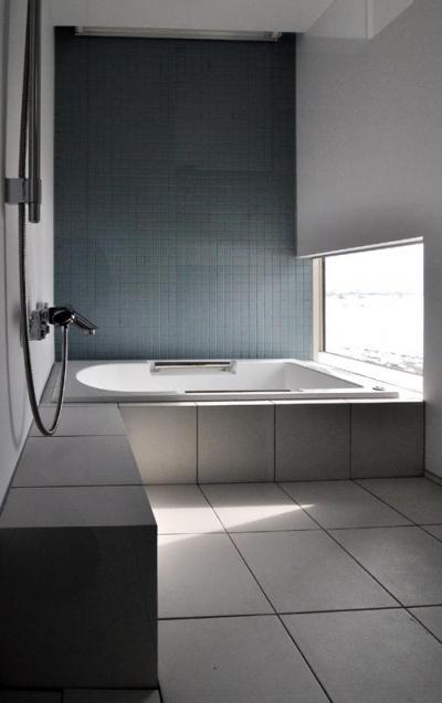 クールな浴室 (『DOMA』光・風・景色を楽しむ住まい)