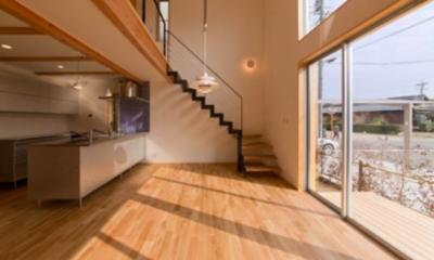 『丹羽の家』ヒノキ造りの柔らかな表情の家