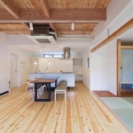 『金石の家』プライバシーを守りながら開放的に暮らす家