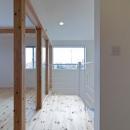 平口泰夫の住宅事例「『金石の家』プライバシーを守りながら開放的に暮らす家」