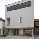 平口泰夫の住宅事例「『杉浦町の家』中庭のあるシンプルな住まい」