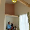 『Circle』照明が空間を作り出す住まいの写真 ペンダントライトがアクセントの子供部屋