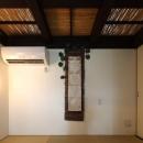 竹天井の座敷