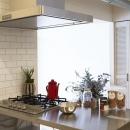 ステンレスオープンキッチン