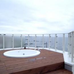『Akiya House』海沿いの家 (海が見える屋外ジャグジー)
