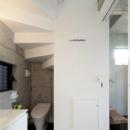 篠原乃生子の住宅事例「『目黒の家』シンプル&クールな住まい」