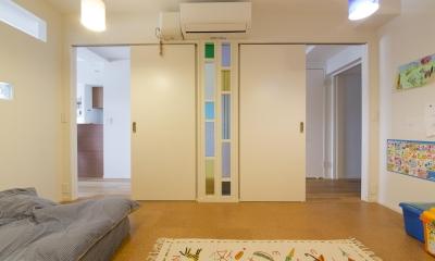 子供部屋-将来は2部屋に|M邸・子供も大人も楽しく安心に暮らす家