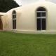 『ドームハウス』木造らしい内部空間