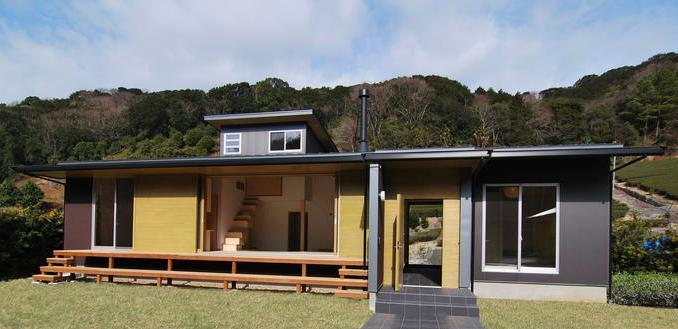 『茶畑の家』通り土間がつなぐ住まいの写真 茶畑の家外観