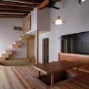 原空間工作所の住宅事例「『茶畑の家』通り土間がつなぐ住まい」