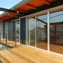 原空間工作所の住宅事例「T字路に建つアトリエハウス」