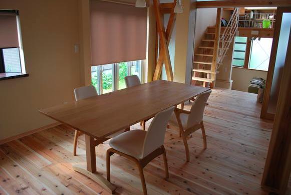 建築家:原空間工作所「『つなぐ家』自然素材をふんだんに使った住まい」