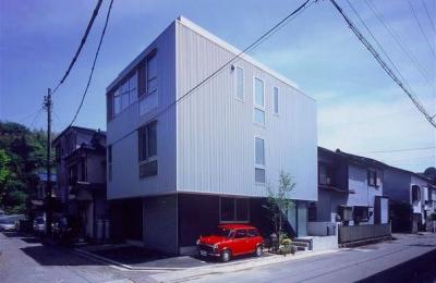 『スチールエコハウス#1』高性能住宅 (スタイリッシュな外観)