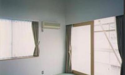 『スチールエコハウス#1』高性能住宅 (畳コーナーのある寝室)