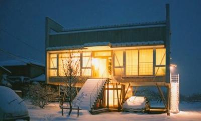 『ライト・BOX』古民家の良さを受け継ぐ近未来的な住まい