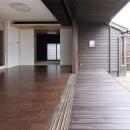矢野友之の住宅事例「『八ッ尾ウグイスの家』庭を身近に感じる住まい」