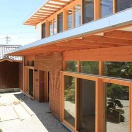 『ながらはうす』眺望のすばらしい二世帯住宅 (ながらはうす外観-2)