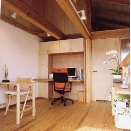 石川町の家 (2階多目的ルーム)