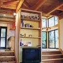建築家/デザイナー(畠山成好)の住宅事例「『音聞山の家』傾斜地に建つ自然を生かした住まい」