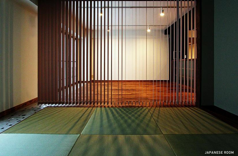 リノベーション・リフォーム会社:nu(エヌ・ユー)リノベーション「『350 WASABI』和の素材がピリッと際立つモダンな空間」
