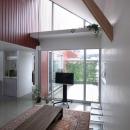 萩野正明の住宅事例「『青海町の家』スタイリッシュなアトリエ兼用住宅」